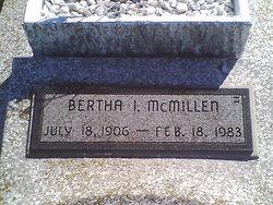 Bertha Irene McMillen