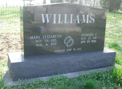 Mary Elizabeth <I>Baker</I> Williams