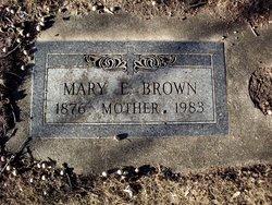 Mary Elizabeth <I>Manning</I> Brown