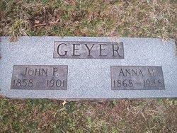 Anna M. <I>Cozzens</I> Geyer