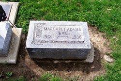 Margaret Pearl <I>Miller</I> Adams