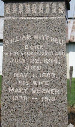 Mary <I>Wenner</I> Mitchell