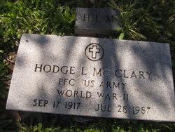 Hodge L. McClary