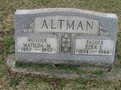 "Matilda May ""Tillie"" <I>Steiner</I> Altman"