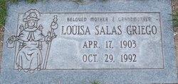Louisa <I>Salas</I> Griego