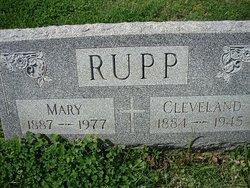 Mary <I>Harmon</I> Rupp