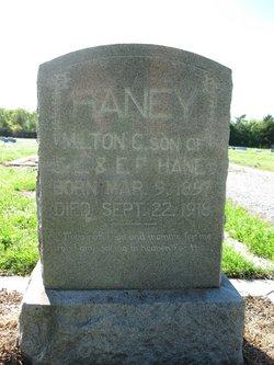 PVT Milton C Haney