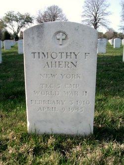 Timothy F Ahern