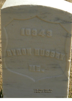 PVT Byron Hussey