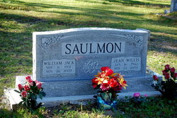 Jean <I>Willis</I> Saulmon