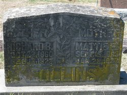 "Martha Ellen ""Mattie"" <I>Owens</I> Collins"