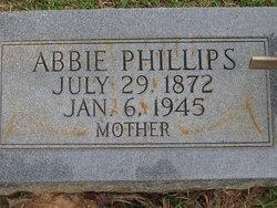 """Lula Abigail """"Abbie"""" <I>Parham</I> Phillips"""