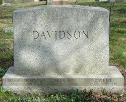 Elizabeth <I>King</I> Davidson