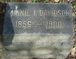 Minnie L. <I>Bates</I> Davidson