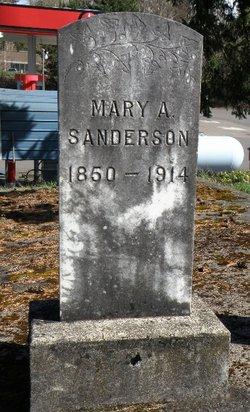 Mary Ann <I>Landon</I> Sanderson