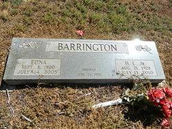 Edna Irene <I>Cook</I> Barrington