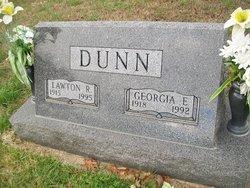 Georgia E. <I>Renfrow</I> Dunn