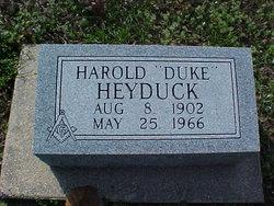 Harold G Duke Heyduck