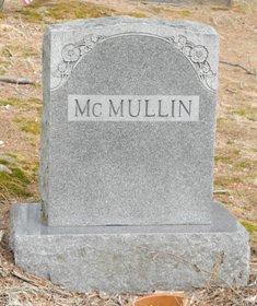 Mary Eleanor Gertrude <I>Adams</I> McMullin