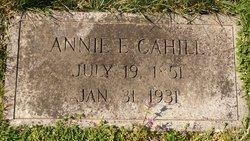 Annie E Cahill
