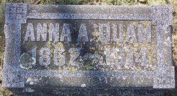 Anna A <I>Mankell</I> Quam