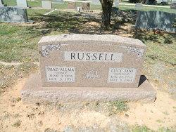 "Thad Allma ""Sooner"" Russell"