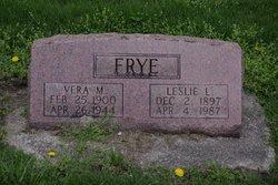 Vera Marie <I>Lesher</I> Frye