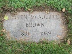 Ellen <I>McAuliffe</I> Brown