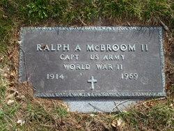 Ralph Ainsworth McBroom, II