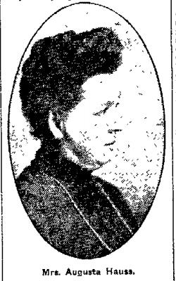 Augusta A. <I>Beatty</I> Hauss