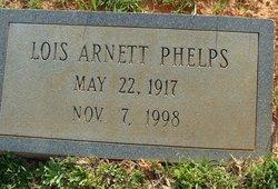 Lois Edna <I>Arnett</I> Phelps