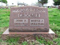 Jennie Myrtle <I>Peters</I> Groomer