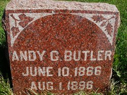 """Andrew G. """"Andy"""" Butler"""