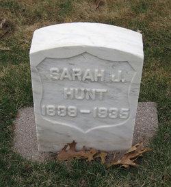 Sarah Jane <I>Richardson</I> Hunt