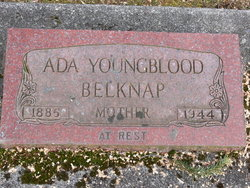 Ada E <I>Conner</I> Youngblood Belknap