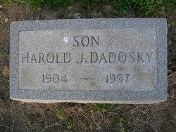 """Harold """"HJ"""" Dadosky"""