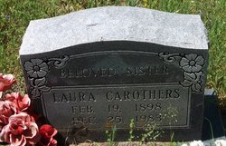 Laura Belle <I>Pearsall</I> Carothers
