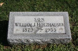 Grave Holzhäuser william j holzhauser 1879 1955 find a grave memorial