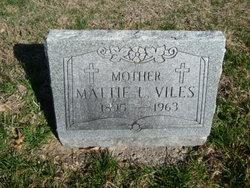 Mattie Lee <I>Bowman</I> Viles
