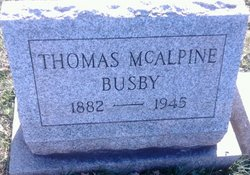 Thomas McALPINE Busby