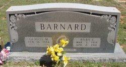 Gladys Mae <I>Daniel</I> Barnard