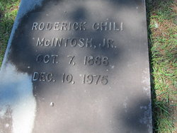 Roderick Chili McIntosh, Jr