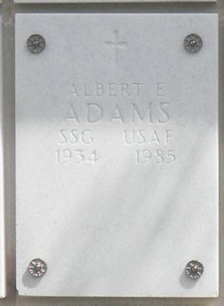 Albert Edwin Adams