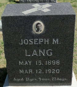 Joseph Michael Lang