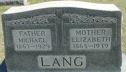 Elizabeth <I>Kisner</I> Lang