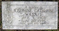 Josephine Catherine <I>Daniel</I> Wasaff
