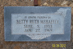 Betty Ruth Mehaffey
