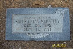 Zulus Ozias Mehaffey