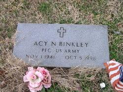 Acy N Binkley