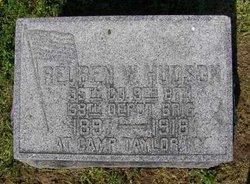 Reuben W Hudson